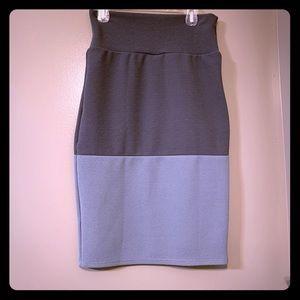 NWOT Grey Pencil Skirt